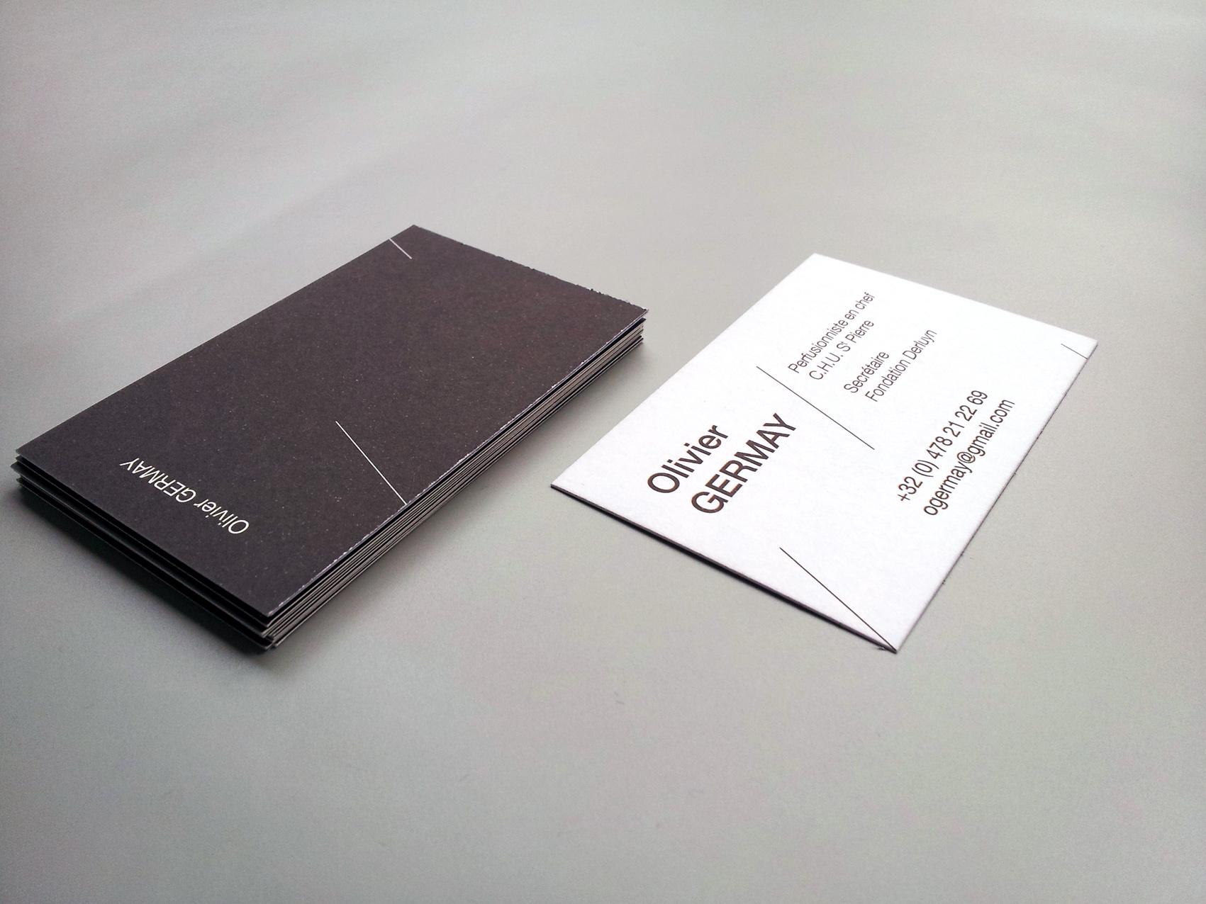 Carte De Visite Papier Offset 01